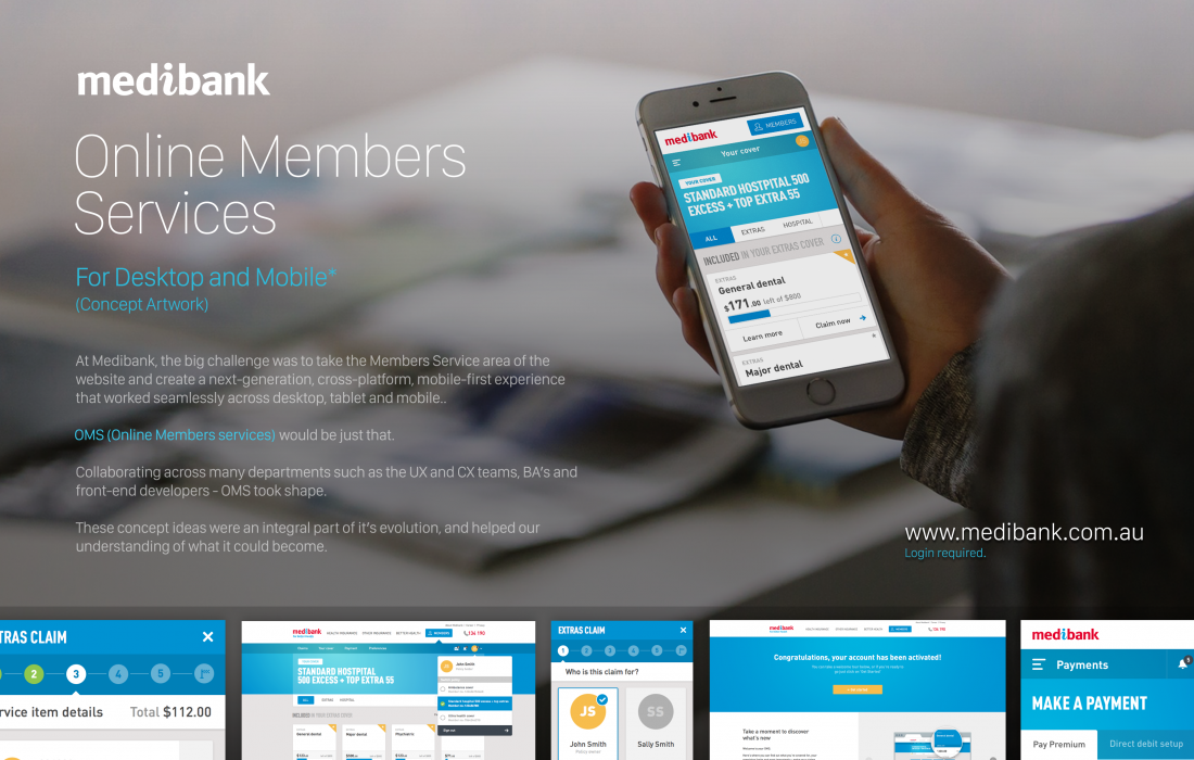 Online Members Services for Medibank