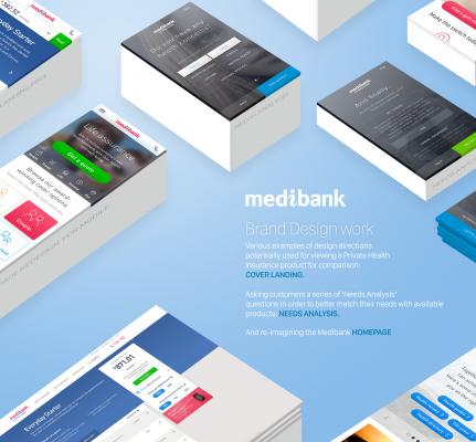 Medibank Brand Designs
