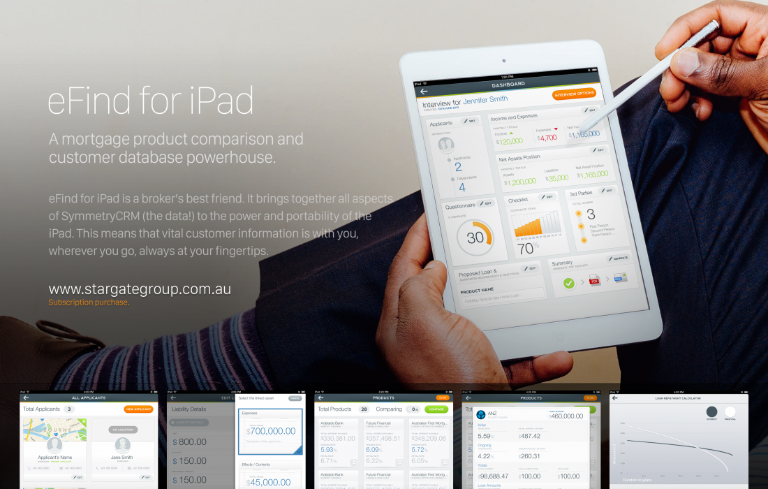 eFind for iPad