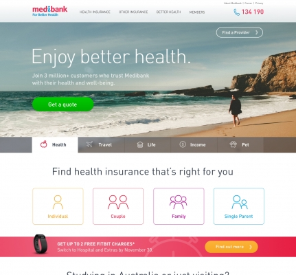 Medibank Travel Redesign